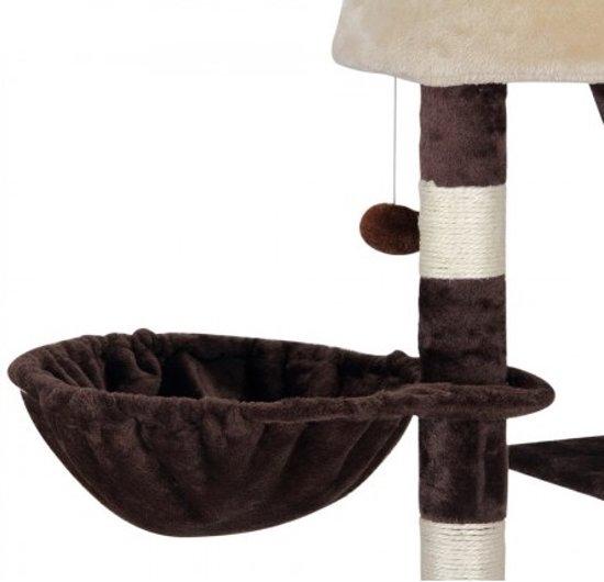 Krabpaal Bruin - plafondhoogte 240-260 cm