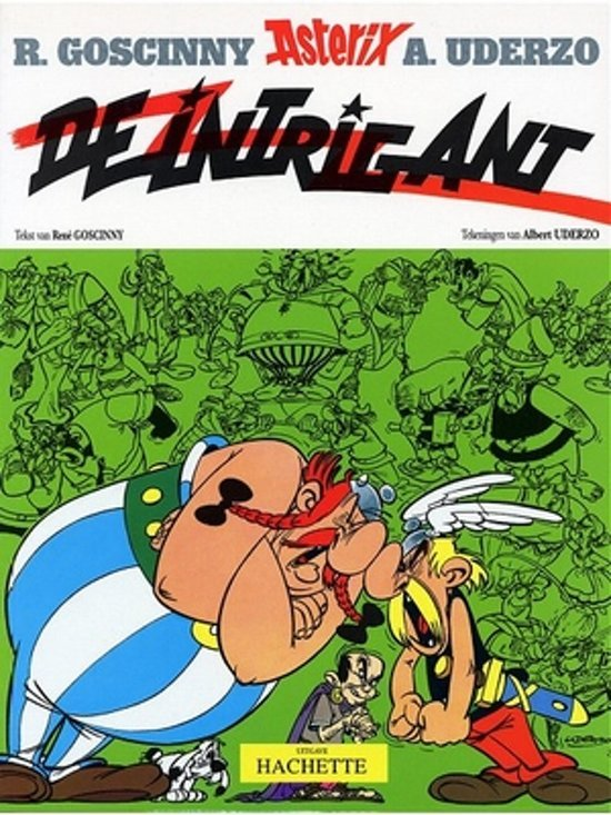 Boek cover Asterix 15 - De intrigant van Albert Uderzo (Onbekend)