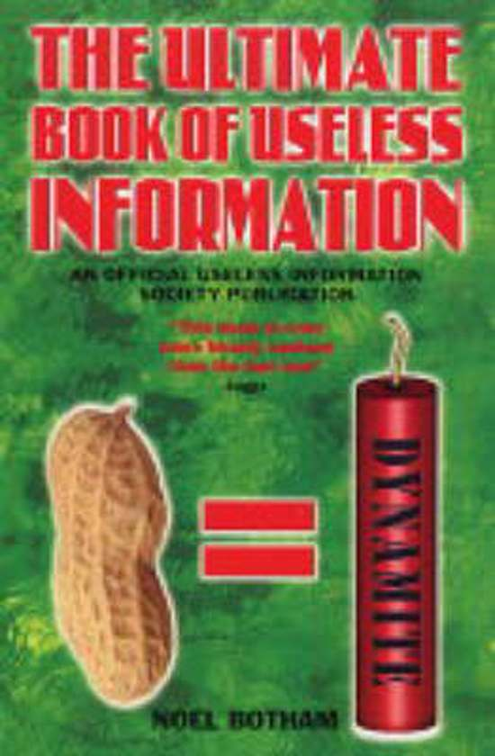 Ultimate Book of Useless Information