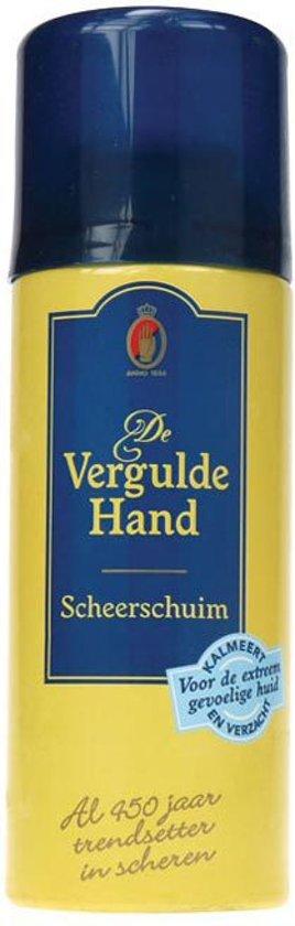 Vergulde Hand Extreem Gevoelig Scheerschuim - 200 ml
