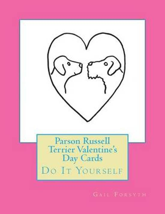Parson Russell Terrier Valentine's Day Cards