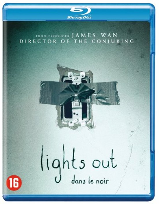 DVD cover van Lights Out (Blu-ray)