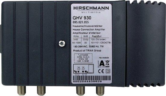 Hirschmann Antenne versterker GHV 930 retourgeschikt [20-30 dB]