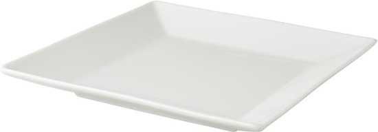 Palmer White Delight Ontbijtbord 19 x 19 cm - 6 st.