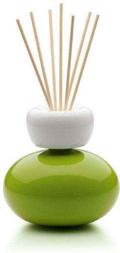 Mr&Mrs Fragrance Ginger Baby Diffuser met Geurstokjes - Groen - 100 ml