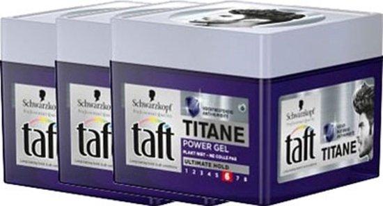 Taft Titane Power Gel Pot Voordeelverpakking