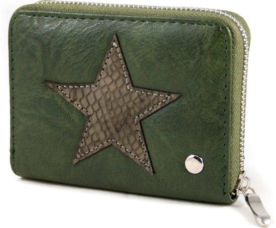 b11cd45ab65 bol.com   Kleine portemonnee groen met ster blingdings