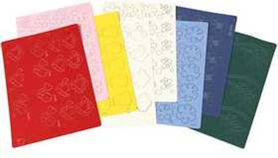 Bolcom Deco Papier Lasergesneden Assortiment A6 105x15 Cm