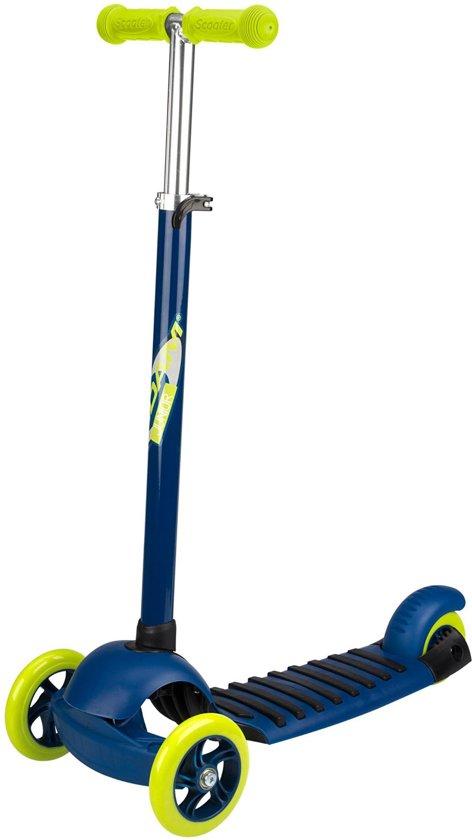 Nijdam 3-Wiel Step - Tri-Surfer Maxi - Marine/Fluorgeel/Antraciet