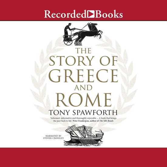 Boek cover The Story of Greece and Rome van Tony Spawforth (Onbekend)