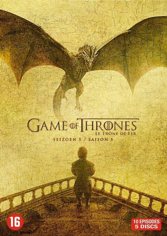 DVD cover van Game Of Thrones - Seizoen 5
