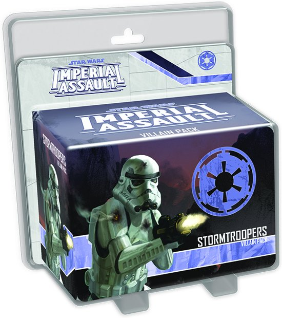 Afbeelding van het spel Star Wars Imperial Assault Stormtrooper Villain P.