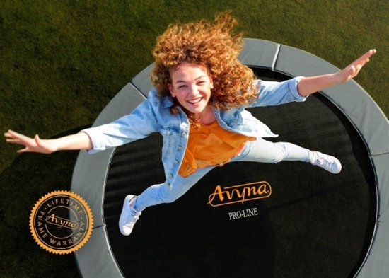 Avyna PRO-LINE InGround trampoline 213 (275x190) Groen