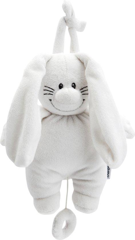 Bunny Basic - Wit - Muziekdoosje