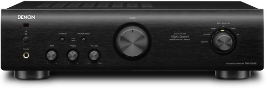 Denon PMA-520AE - Geïntegreerde stereo versterker - Zwart