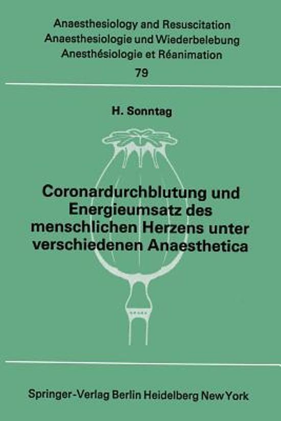 bol.com   Coronardurchblutung und Energieumsatz des Menschlichen ...