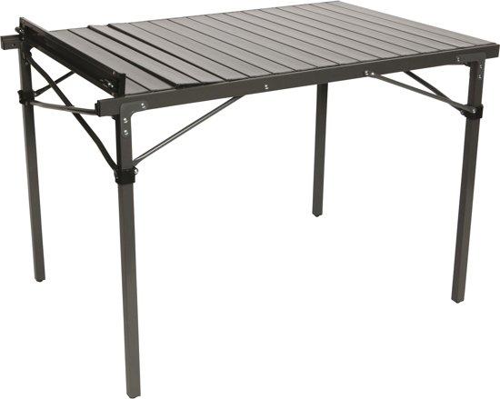 Bo Camp Aluminium Roltafel.Bo Camp Tafel Lamel Solid Met Draagtas 105x70x70 Cm