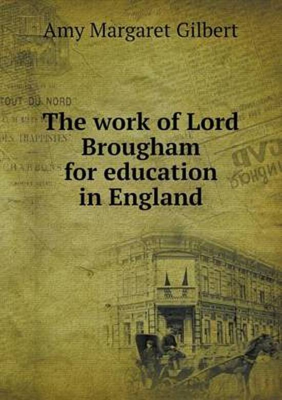 a description of lord brougham a former lord chancellor of england Physical description chair lord brougham as lord chancellor of england, he needed a country house sufficiently grand for his political and social entertaining.