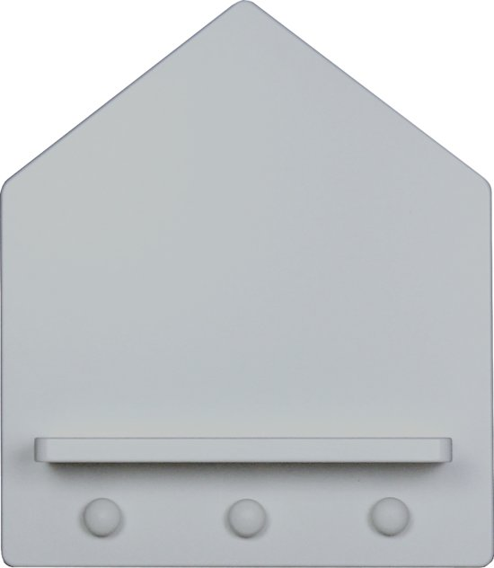 Bopita - Home - Wandrek - 14 X 33 X 39 Cm - Pure Grey