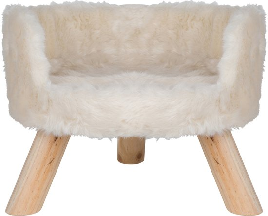 District 70 NORDIC Kattenmand - Wit - 40 x 40 x 35 cm