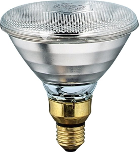 Philips - Warmtelamp E 100w Wit Energiebesparend