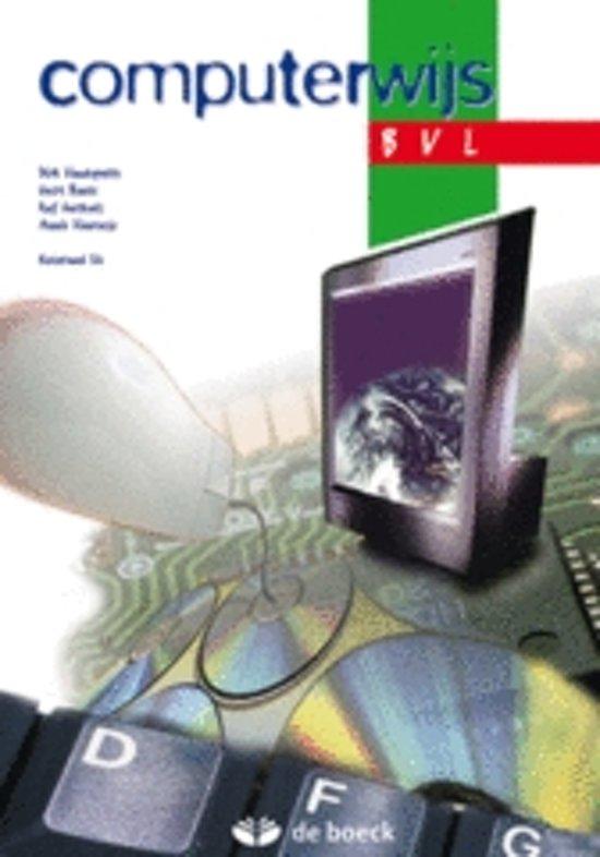 Computerwijs bvl leerwerkboek cd rom