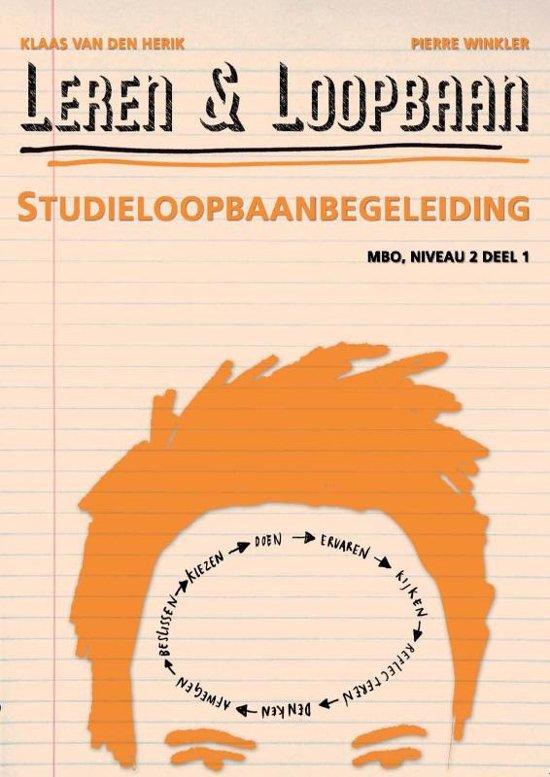 Leren Loopbaan Studieloopbaanbegeleiding MBO Niveau 2 deel 1