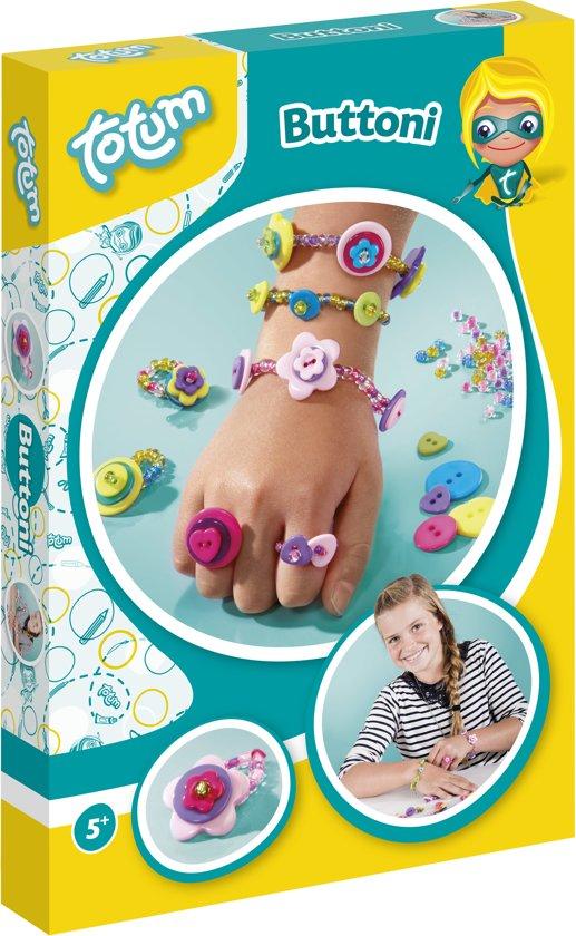 Totum Buttoni - Sieraden maken met knoopjes