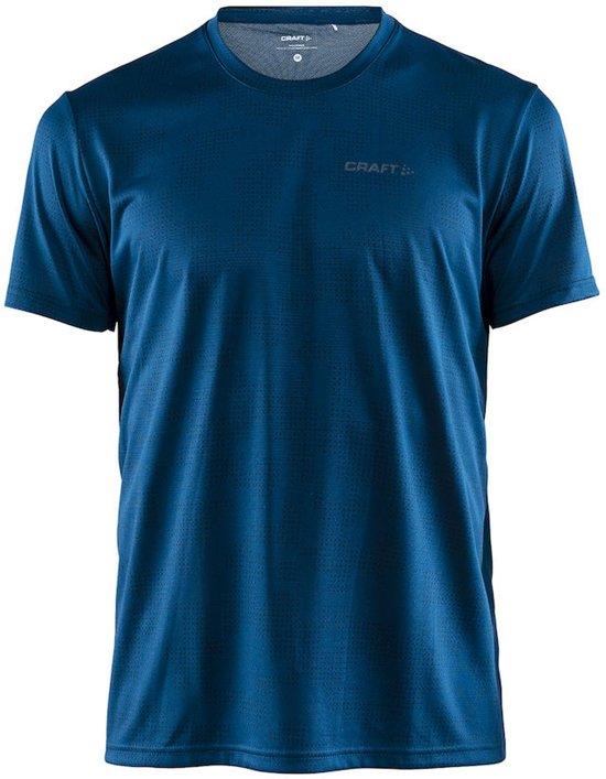 Craft Eaze Ss Tee M Sportshirt Heren - P Camo Nox