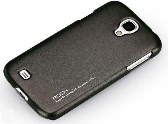 Rock Hard Shell Cover voor de Samsung Galaxy S4 (black)