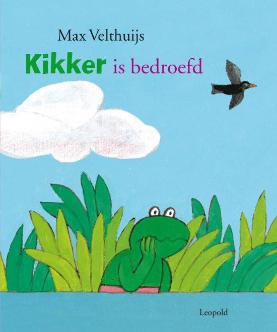Boek cover Kikker - Kikker is bedroefd van Max Velthuijs (Hardcover)