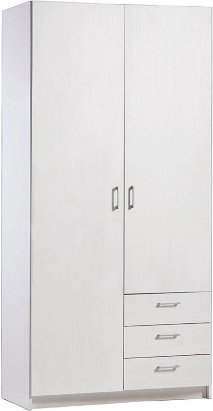 Bolcom True Furniture Marlijn 32r Wit Wit Houtnerf