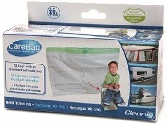 Foto van Care-Bag droogtoilet 12st