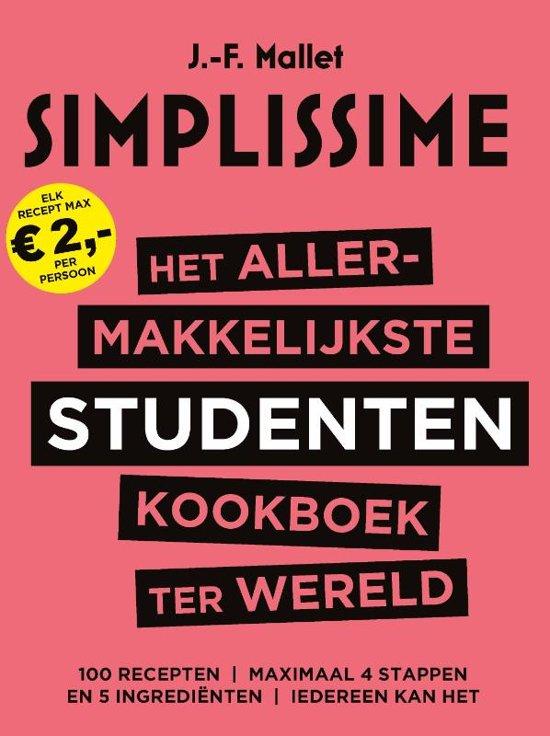 Boek cover Het allermakkelijkste studentenkookboek ter wereld van J.-F. Mallet (Hardcover)