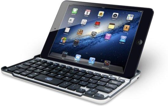 Avanca Toetsenbord Tablet Aluminium Tablet Case iPad Mini - Zilver