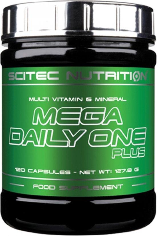 Scitec Nutrition - Mega Daily One plus - Multi-Vitamine en Mineralen formula met 25 ingredienten - 120 capsules - 60 porties
