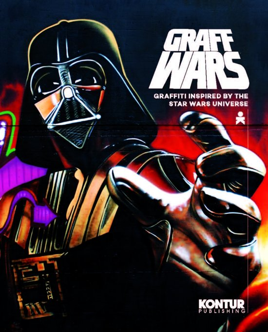 Graff Wars: Graffiti inspired by the Star Wars universe