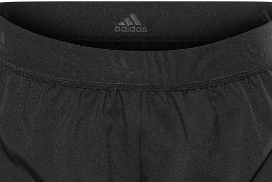 adidas 2-in-1 Sportshort Dames  Sportbroek performance - Maat L  - Vrouwen - zwart