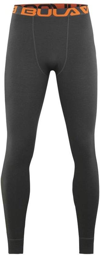 Attitude legging merino wol – donker grijs - maat L