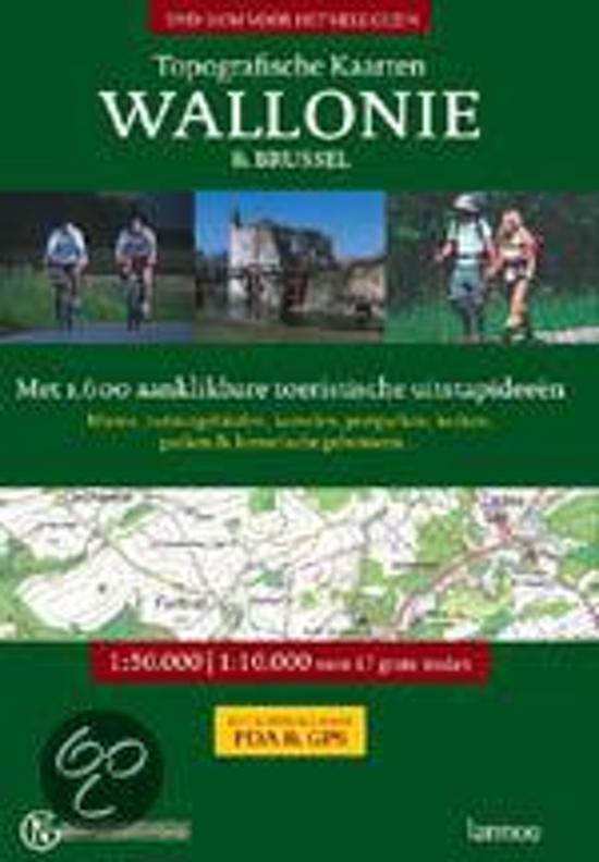 Topografische kaarten Wallonië en Brussel