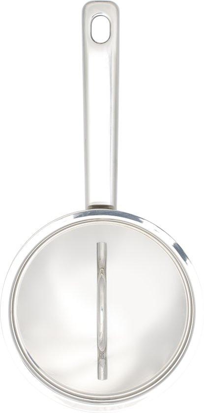 BK Profiline Steelpan met Deksel 14 cm