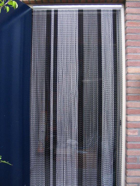 Verwonderend bol.com | Sun-Arts - Vliegengordijn - 90x210 cm - Grijs YZ-46