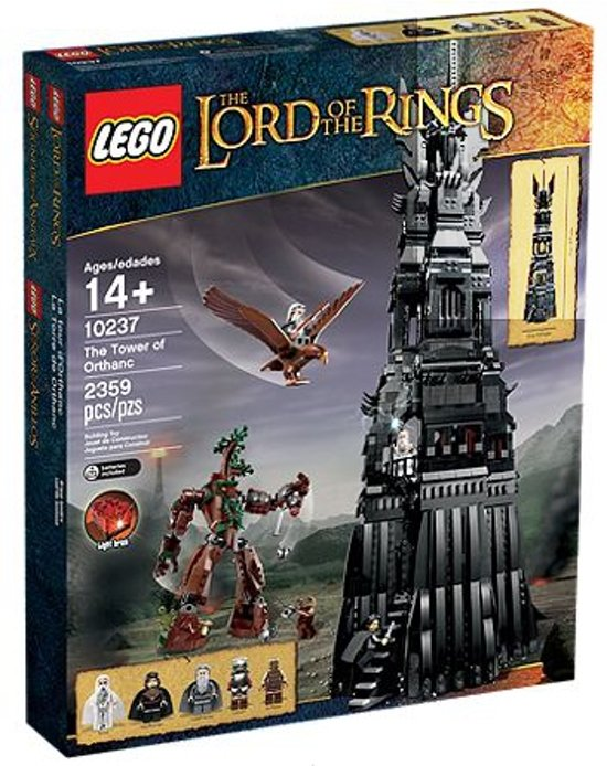 LEGO Lord of the Rings The Tower of Ortanc - 10237
