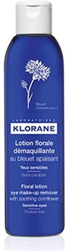 Klorane Korenbloem Lotion - Oogmake-up Reiniging Lotion - Floral Eye Make-up remover