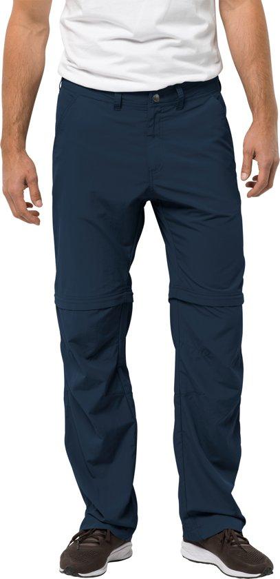 Zip Outdoorbroek Blue Night Jack Canyon Heren Off Pants Wolfskin qCExPUFwf