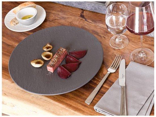 Villeroy & Boch Manufacture Rock Gourmetbord à 31,5 cm
