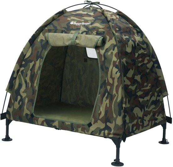 Tent M camouflage hondenhuis 94x68x90cm