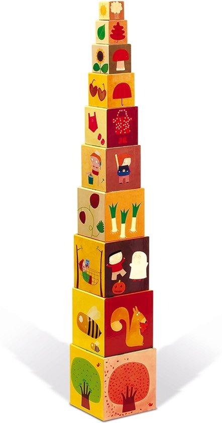 Afbeelding van Janod Stapeltoren - 4 seizoenen speelgoed
