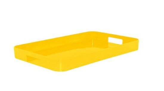 Zak!Designs New Gallery Dienblad - 53.5 x 34.5 cm - Geel