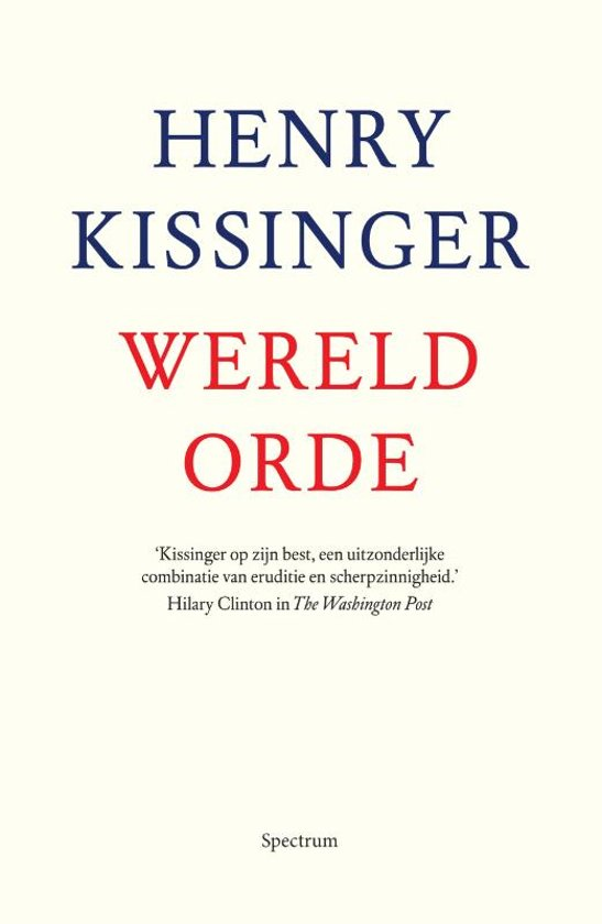 Boek cover Wereldorde van Henry Kissinger (Paperback)